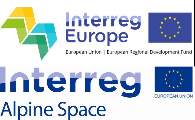 Fondi complementari Interreg EUROPE e Spazio Alpino – bandi aperti fino a fine giugno