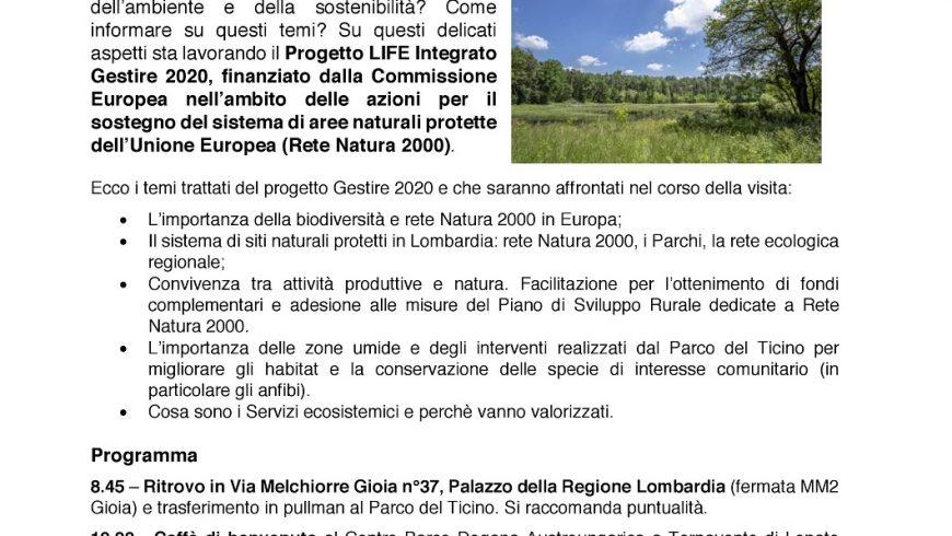 Press Tour – Parco Ticino