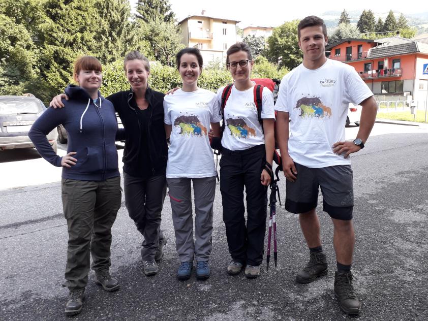 Il Progetto Pasturs entra nella sua terza settimana. Altri 6 volontari sugli alpeggi delle Orobie bergamasche