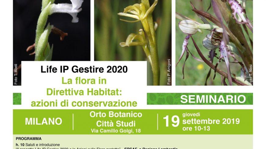 La flora in Direttiva Habitat: azioni di conservazione – Milano