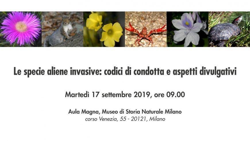 Corso di formazione su specie aliene invasive per guide Aigae e Gev – Milano
