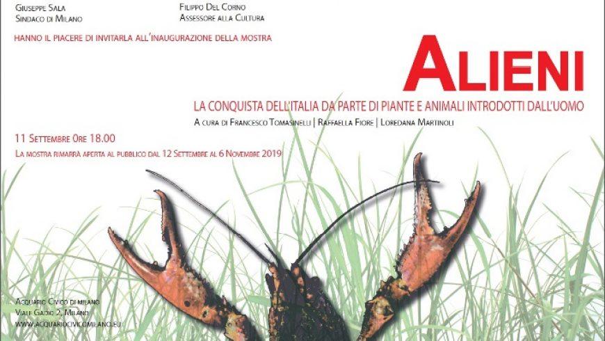 """Inaugurazione mostra """"Alieni: la conquista dell'Italia di piante e animali introdotti dall'uomo"""" – Milano"""