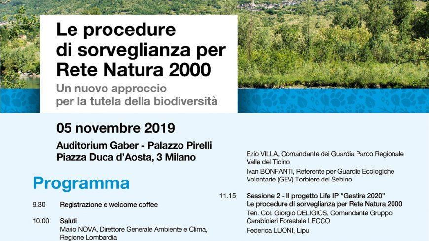 Le procedure di sorveglianza per Rete Natura 2000 – Milano
