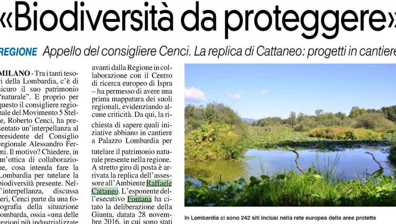 02/10/2019 Biodiversità da proteggere