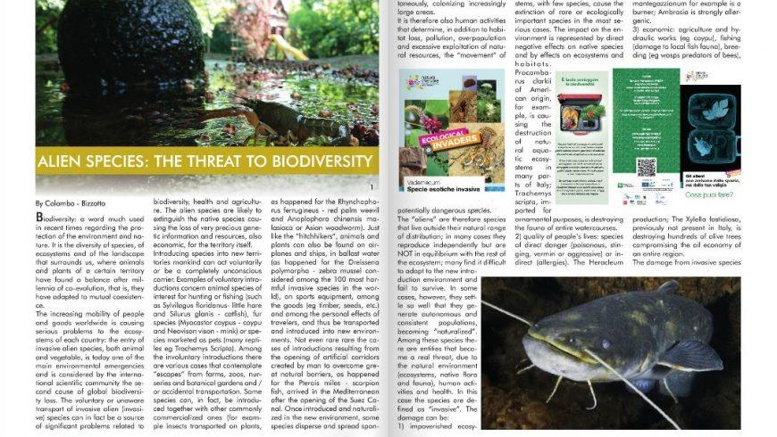 01/09/2019 Alien species: the threat of biodiversity