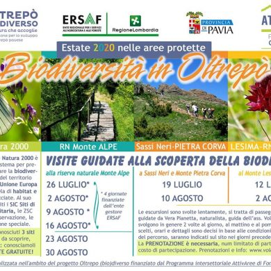 Visite guidate per scoprire la biodiversità dell'Oltrepò pavese