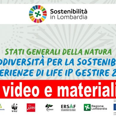 Disponibili video e materiali degli Stati generali di Natura 2000 del 18 novembre