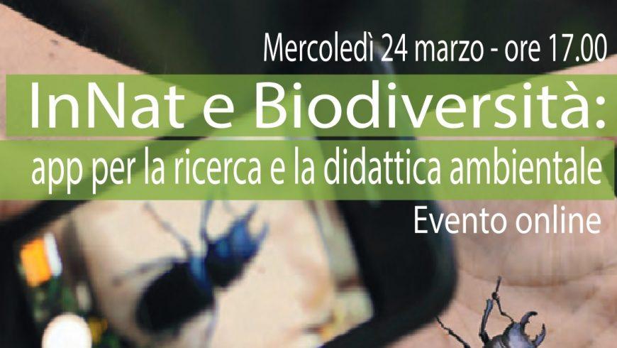 InNat e Biodiversità: app per la ricerca e la didattica ambientale – Webinar