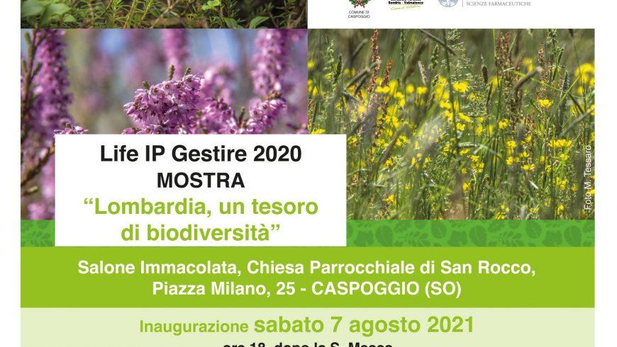 """Inaugurazione mostra """"Lombardia, un tesoro di biodiversità"""" – Caspoggio (SO)"""