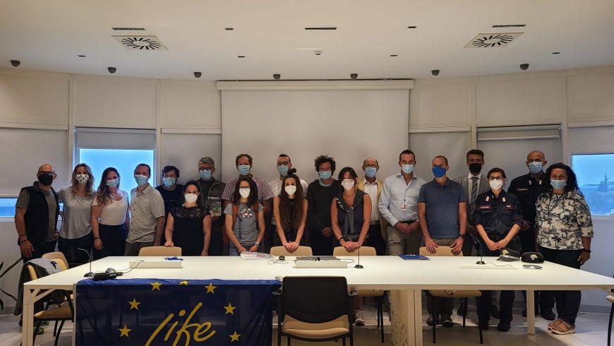 Studenti dell'Unisubria visitano il presidio di contrasto delle specie aliene invasive all'aeroporto Orio al Serio
