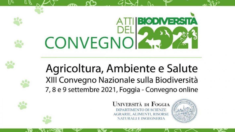 Ora disponibili gli atti del 13° Convegno nazionale sulla biodiversità